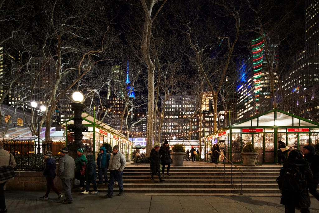 Bryant Park Winter Village